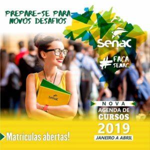 Senac Rondônia acaba de abrir vagas para os cursos da primeira programação de 2019